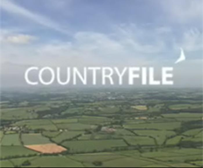 Jonathan Webber featured on BBC Countryfile on Sunday January 20, 2013