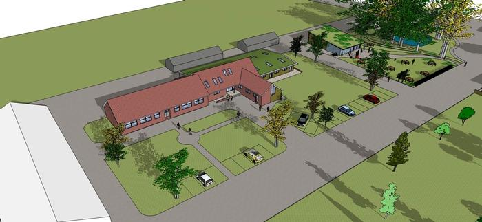 Plans for the Veterinary Services Centre