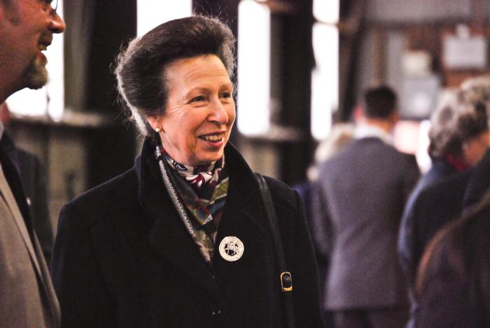 HRH The Princess Royal during her last visit to Harper Adams