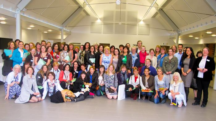 WiRE members pictured with fellow rural businesswomen from Spain