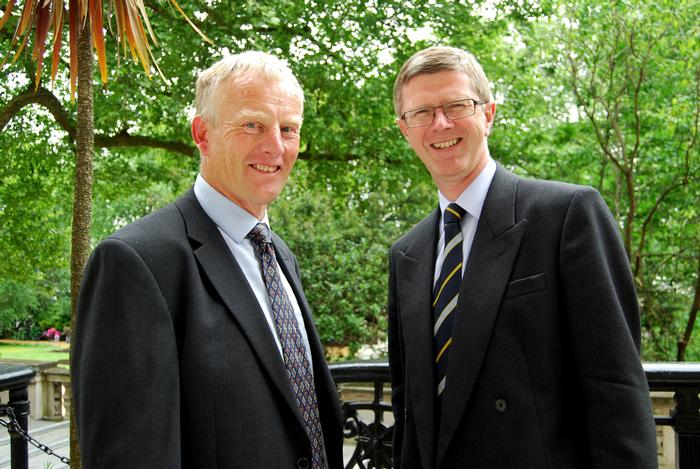 Mike Tyers and Dr David LLewellyn