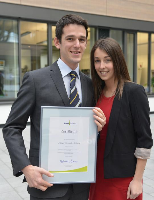 Alex Skittery and his partner, Rachel Ford