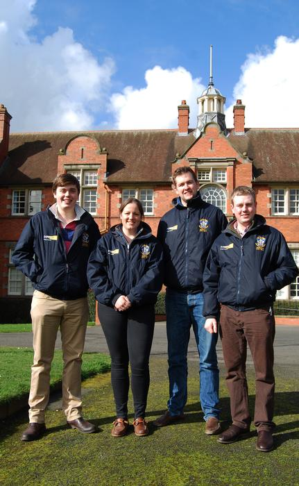 The Harper Adams Cereals Challenge team