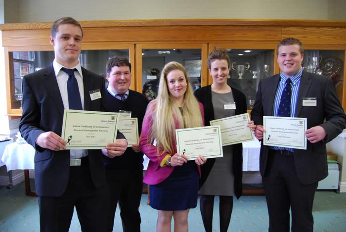 The students with their certificates (more photographs below)