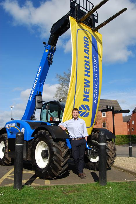 Freddy has worked for New Holland during his placement year