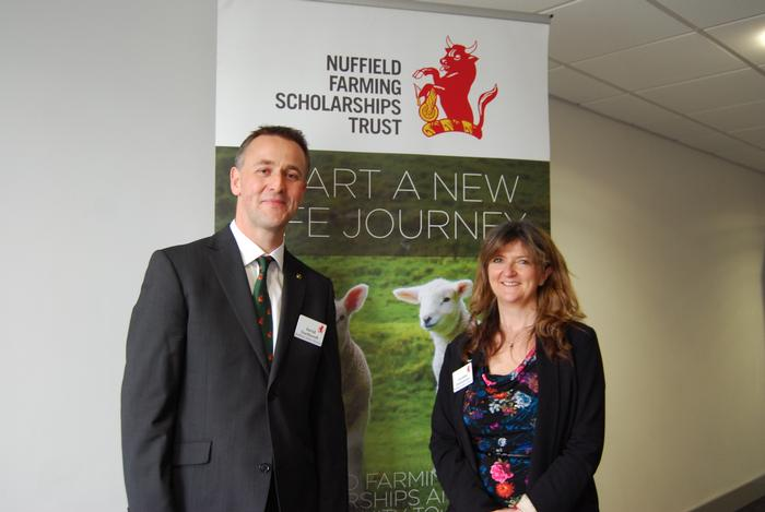 David Northcroft and Caroline Drummond