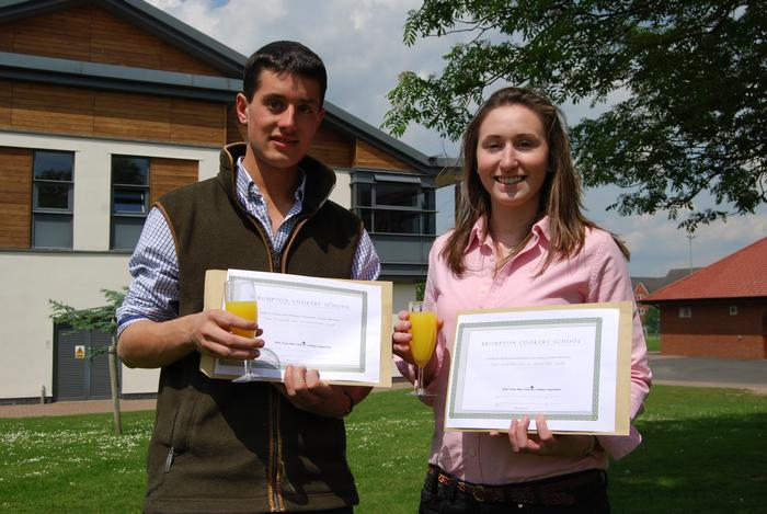 Third prize winners, George Goring and Beth Hanson
