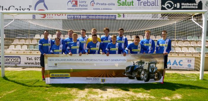 The team during their tour to Salou