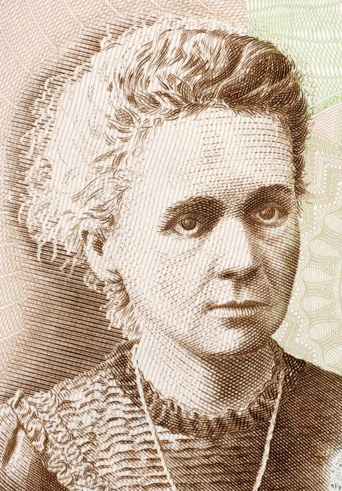 Marie Curie, the first female recipient of the Nobel Prize for Physics
