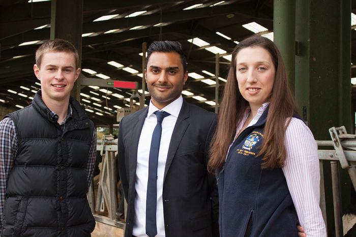 Will Taylor, Rishi Sethi and Lizzy Andow