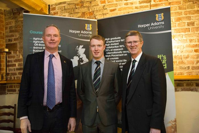 Owen Brennan, Adam Patterson and Dr David Llewellyn