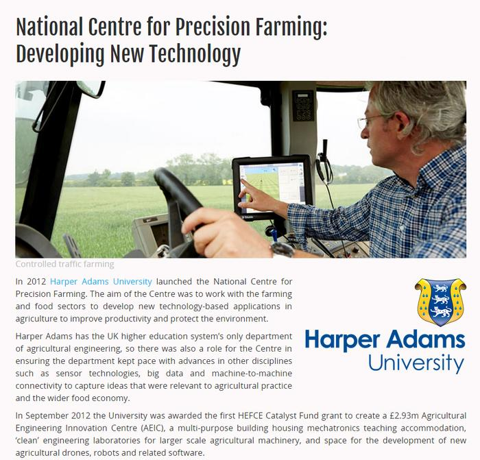Harper Adams/NCPF case study - click to enlarge
