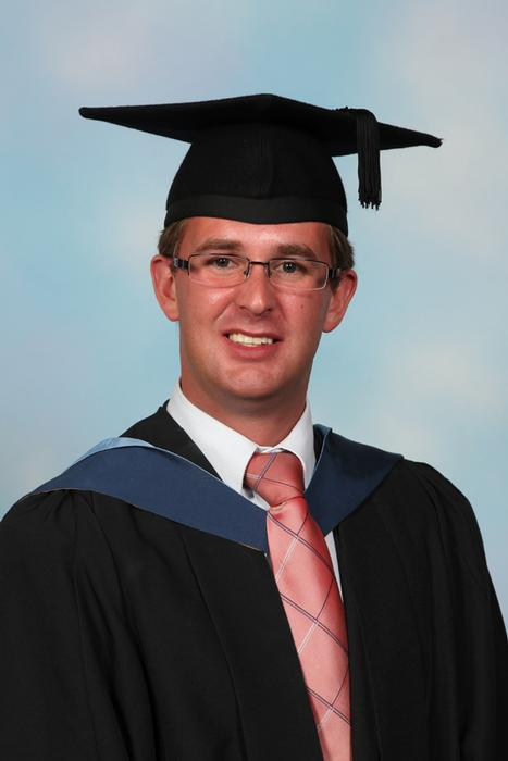 James Croxford graduated from Harper Adams University in 2011