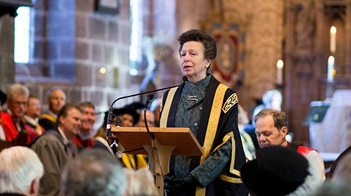 HRH The Princess Royal, Harper Adams University Chancellor, will host a reception for university supporters at Rabobank, London