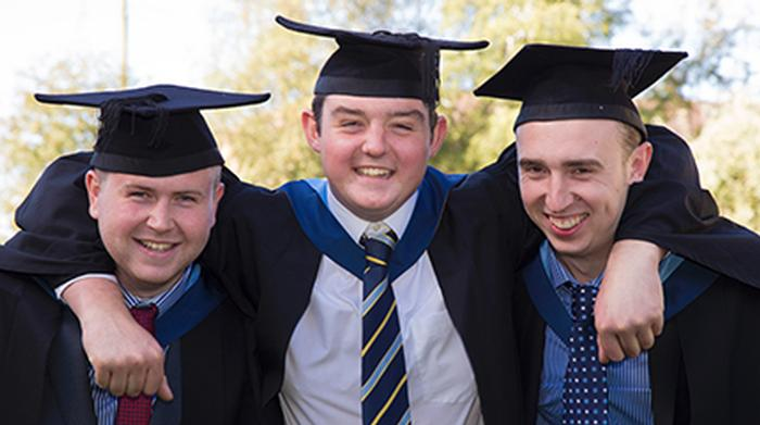 Graduates have made friends for life at Harper Adams University