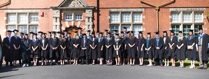 Graduates with First Class Honours