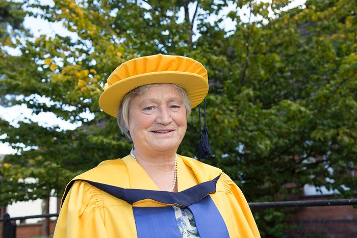 Prof. Dame Julia Slingo received an honorary degree