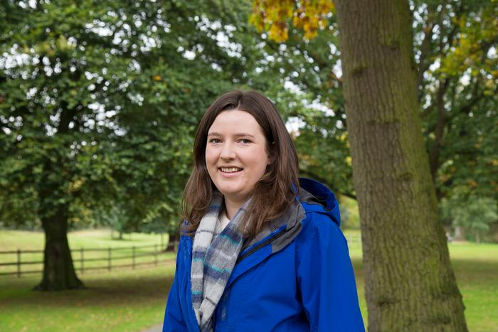 MRes student Rachel Glover is working with the Woodland Trust