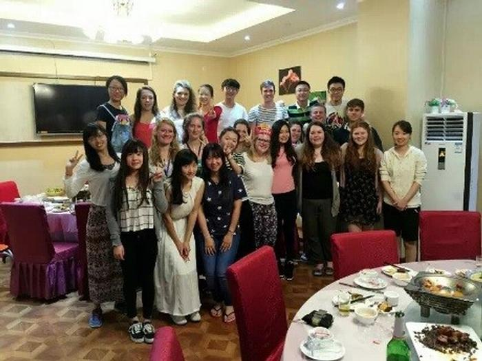 UK and Chinese students united in Beijing