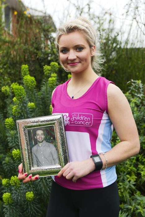 Holly Bishop is raising money in memory of her brother, Guy.  (Photo courtesy of the Advertiser Media Group)