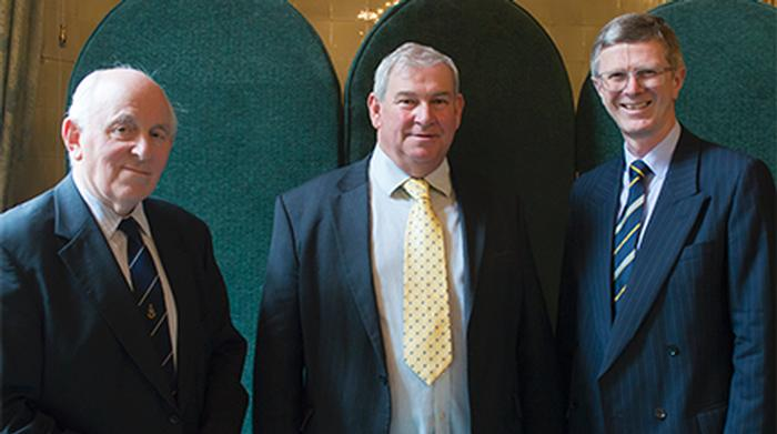 Peel Holroyd, Bruce Keith and Dr David Llewellyn
