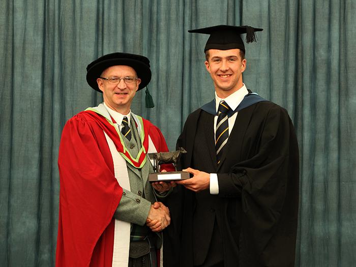 Andrew Harrison - RABDF/De Lacey Dairy Student of the Year