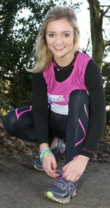 Holly Bishop is aiming to complete eight marathons in eight months