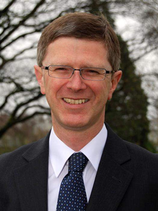 University Vice-Chancellor, Dr David Llewellyn