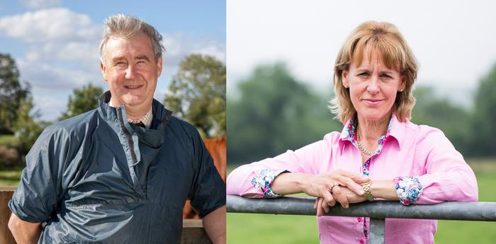 Peter Wright and Minette Batters are to receive honorary degrees in September