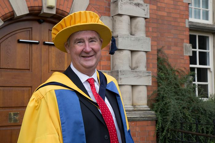 Yorkshire Vet Peter Wright on graduation day