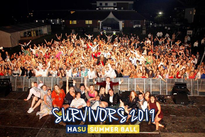 Survivors' photo - those who made it until 4am