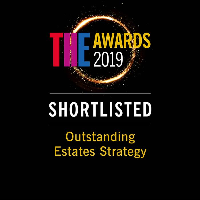 Outstanding Estates Strategy shortlisting badge
