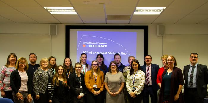 University staff along with representives from across the West Midlands