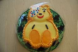 The Pudsey Bear cake
