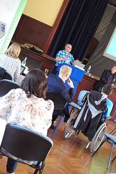 Delegates at Shropcamp