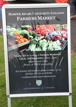 What's going on at Harper's first Farmer's Market.
