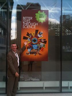Professor Peter Mills at the British Science Festival