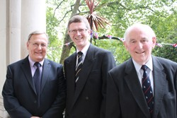 Stephen Lister, Dr David Llewellyn and Peel Holroyd