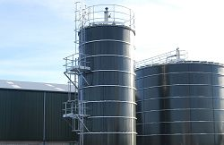 The Anaerbic Digester which is set to be producing energy by Spring 2011