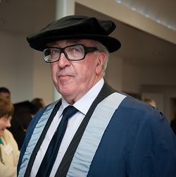 Mr Richard Matson, who was given an Honorary Fellowship.