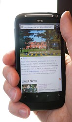 Web users can now access the Harper Adams site via mobile devices
