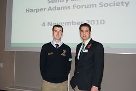 James Mayes with Forum Chairman, Sam Bales