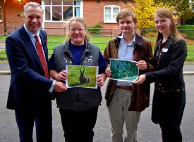 Organiser Simon Keeble, Maria Justamond, Ed Dickin and Janine Heath. More photographs below.