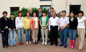The delegation from the Chinese Ministry of Agriculture