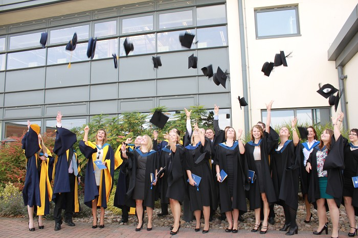 Students celebrate obtaining PHDs and first-class degrees