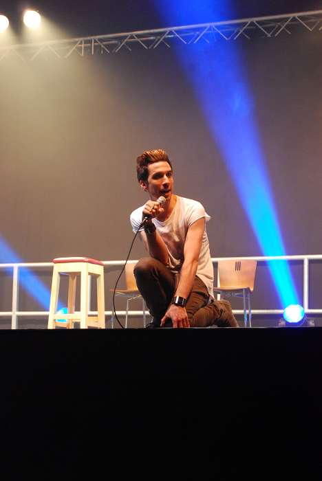 Russell Kane on stage