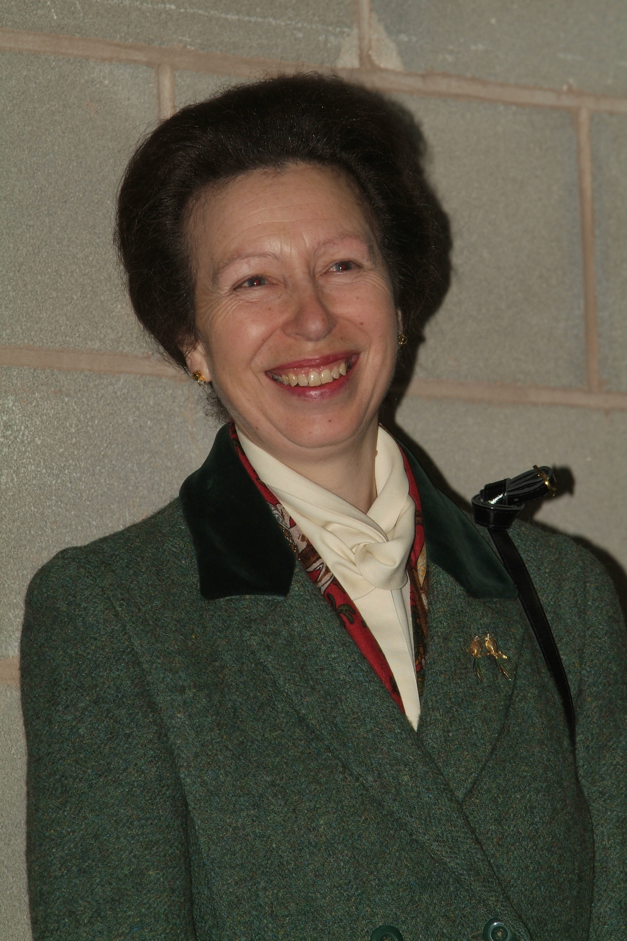 The Princess Royal in the Bioenergy Development Centre