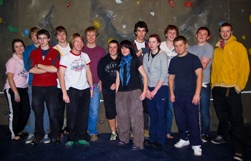 The first year Adventure Recreation Management BSc (Hons) students