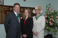 Suzanne with Lord and Lady Stafford