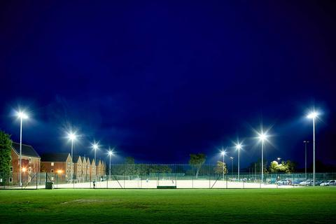 All weather sports pitch